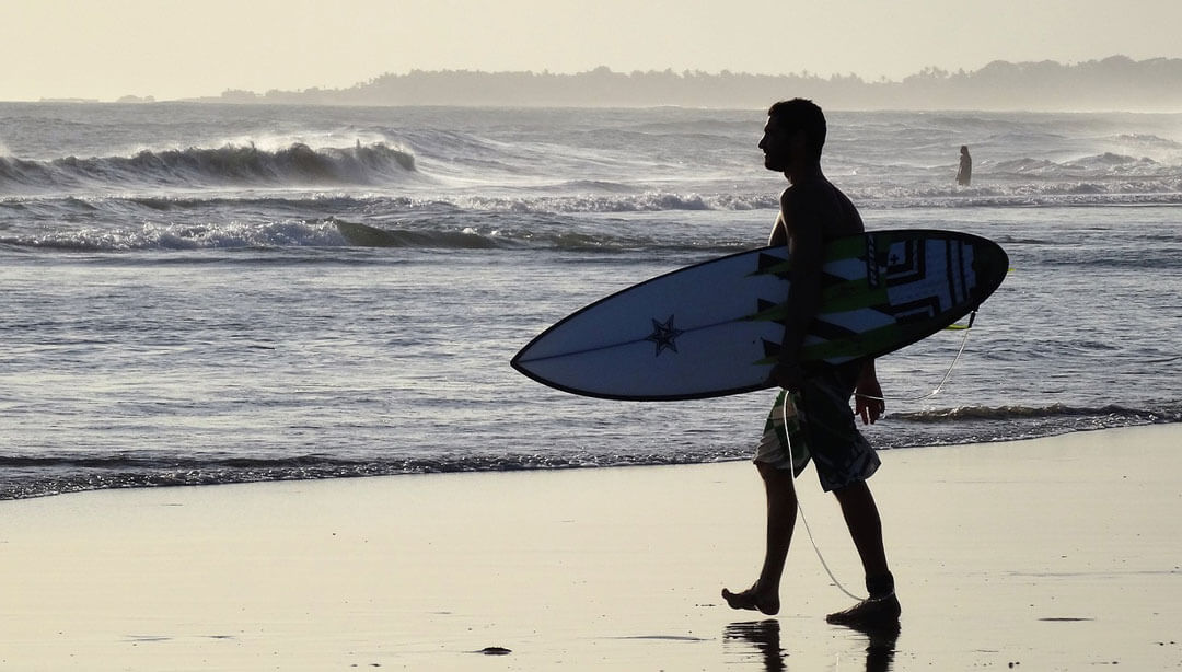 surfer - traveling to Bali