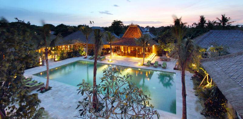 Resort by nightfall