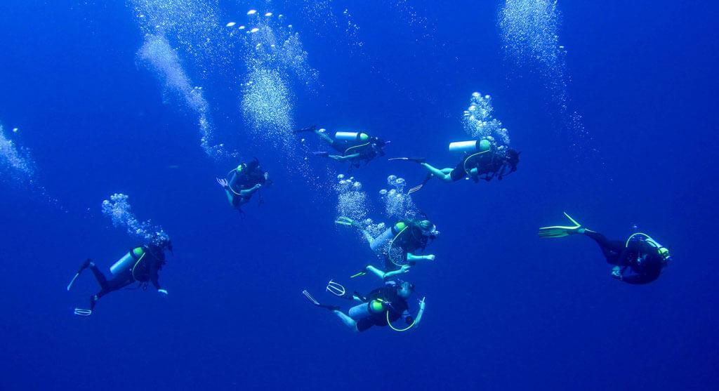 diving course ssi senggigi lombok